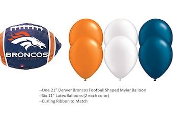 Denver Broncos Balloons