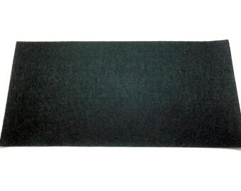 1 coupon, black felt sheet 30 x 15 cm