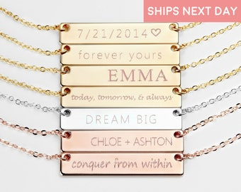 Custom Name Necklace for women inspirational Best Friend necklace Best Friend valentines day gift for her personalized - 4N