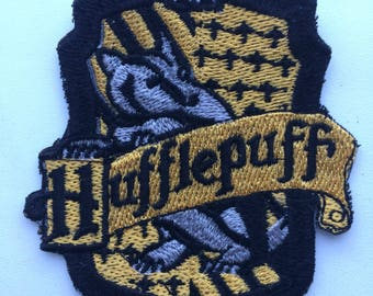 Hufflepuff from Harry Potter school patch