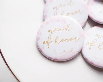 Bachelorette Party, Maid of Honor, Bride Tribe, Flare Button, MOH Button, Party Supplies, Wedding Shower, Bar Crawl, Party Bus