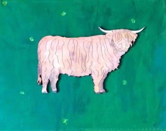 Bull Canvas