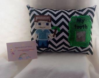 boys Tooth fairy pillow