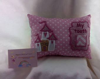 Tooth fairy pillow princess castle