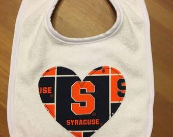 Syracuse Heart Bib