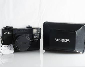 Minolta Hi-Matic AF2 35mm Point and Shoot Camera