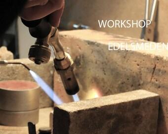 Workshop goldsmith in Amsterdam