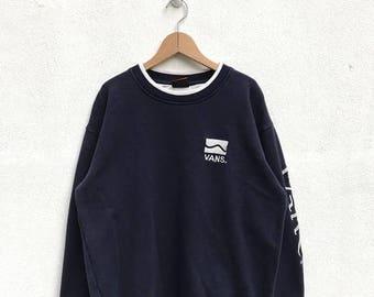 20% OFF Vintage Vans Sweatshirt,Vans Skate Clothing,Skater,Skateboading,Powell Peralta