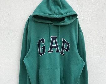 20% OFF Vintage Gap Big Logo Hoodie / Gap Sweater / Gap jumper / Big Logo Sweatshirt / Streetwear / Sportwear