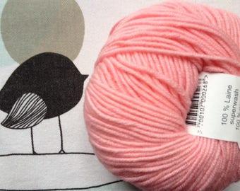 WOOL pink Marshmallow - FONTY GUERET