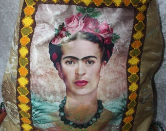 Frida Kahlo Festival Gymbag Frida Backpack Rucksack bag Frida Kahlo bag