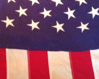 Vintage Defiance 50 star American Flag