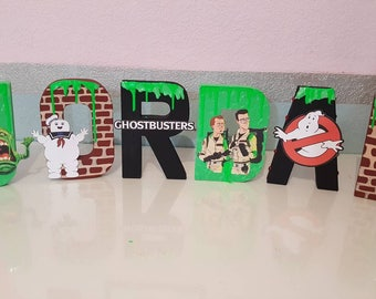 Ghost busters letters