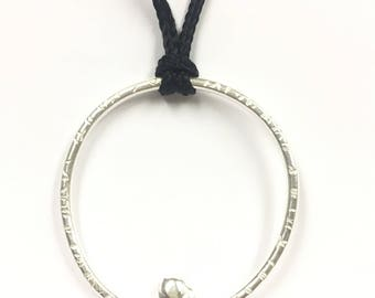 Sterling silver pendant , FREE SHIPPING