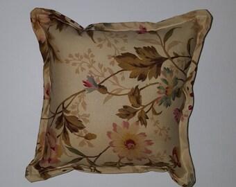 Floral Polka Dot Pillow