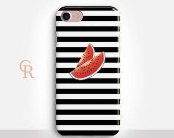 Watermelon Phone Case For iPhone 8 iPhone 8 Plus iPhone X Phone 7 Plus iPhone 6 iPhone 6S  iPhone SE Samsung S8 iPhone 5 Samsung S7 Edge