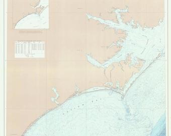 Cape Fear River to Ocracoke Inlet 1972