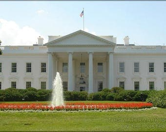 Poster, Many Sizes Available; White House