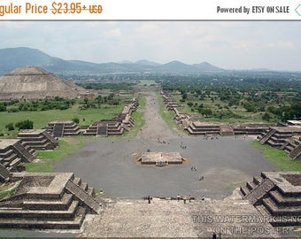 40% OFF SALE Poster, Many Sizes Available; Teotihuacan Mesoamerican City Of P1 Aztec Maya Mexico