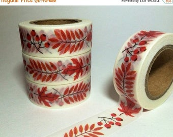 45% OFF 4th Of July ON SALE, Fall Berries & Leaves, Washi Tape