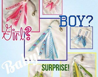 30% OFF ENTIRE STORE Baby Girl and Baby Boy Tassels & Clips, With Tassel Extensions