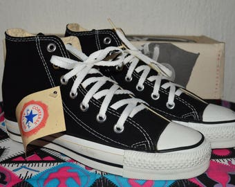 Converse all star vintage rare canvas deadstock og made in usa 5 nwb