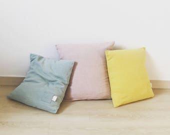 Spring Linen Pillow cover