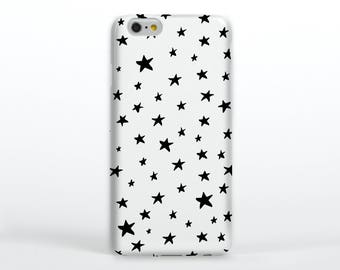 Star Phone Case // Star, phone cases, iphone, iPhone 6, doodles, handrawn, gifts for her, fun phone case, samsung, blackberry,
