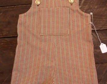 Toddler short overalls