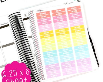 LS258 Spring Home MDN Headers!  Set of 60 Perfect for the Erin Condren Planner!!!