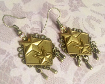 These starry earrings