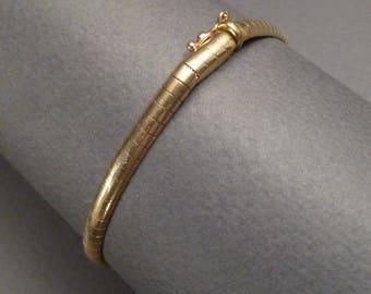 14K Italian Link Bracelet
