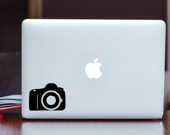 Camera Vinyl Decal Sticker Choose your Color and Size