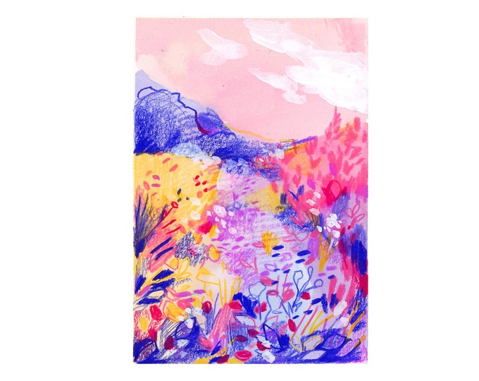 Mountain Landscape 3 -- Art Print