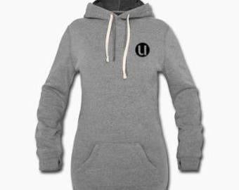 Woman hoodie dress