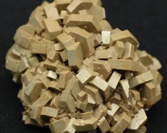 Brown 'Cafe Au Lait' Vanadinite Crystals, Morocco - Mineral Specimen for Sale