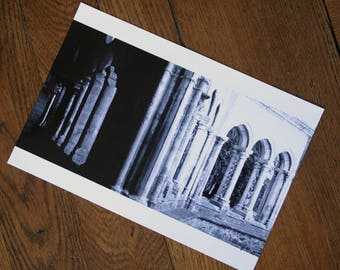 Photo black and white Abbey and