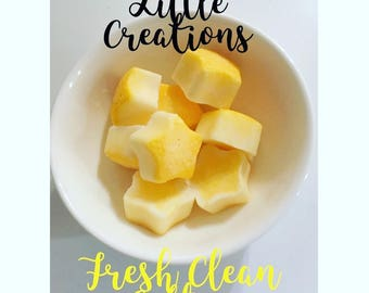 Fresh Clean Cotton: Soy Wax Melts