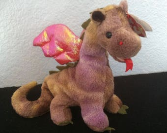 Ty Beanie Baby, Scorch the dragon, vintage