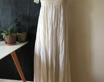 Vintage empire dress made in wales
