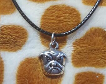 Angry Bulldog Pendant