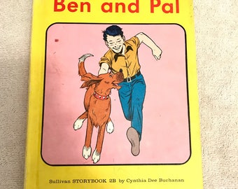 Vintage Ben And Pal Story Book