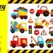 BUY1GET1 (Coupon Code) Construction Truck Clipart - Cute Clipart, Truck  Clipart, Fun Clipart, Clipart Set