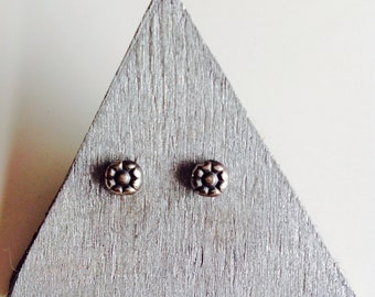 Earrings flower , studs , little flower , silver flower , studs daisy , earrings rose , earrings silver studs