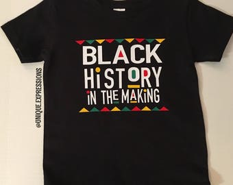 Black History In The Making Tee