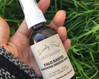 Palo Santo Cleansing Smudge Spray