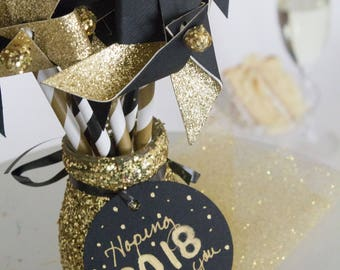 2018 Centerpiece, New Years Eve Centerpiece, 2018, New Years Eve decoration, New Years Eve party, Happy New Year, New Years Eve decor