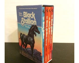 The Black Stallion Paperback Book Box Set