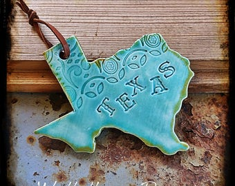 Texas Lace Ornament
