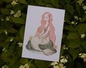 Forest Mermaid - Print